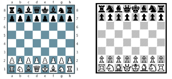 Two Chess Boards